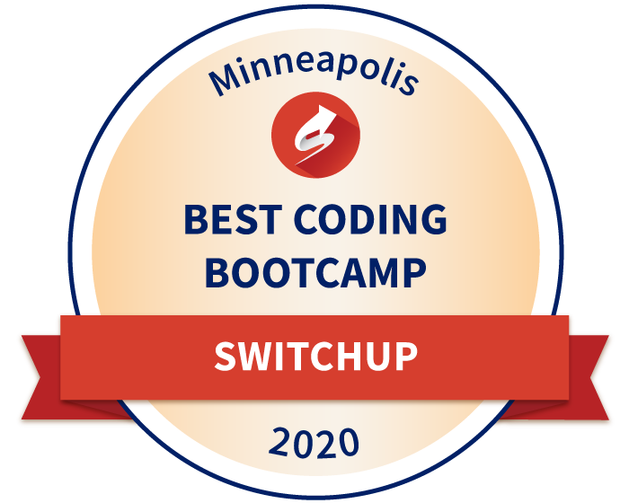 SwitchUp's Best Coding Bootcamp Award 2020 Winner - Minneapolis